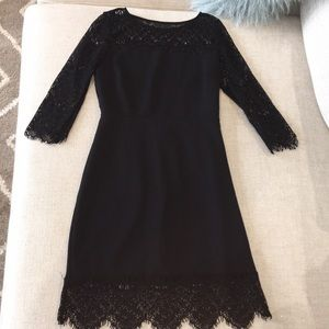 Express Black with Lace Cocktail Dress